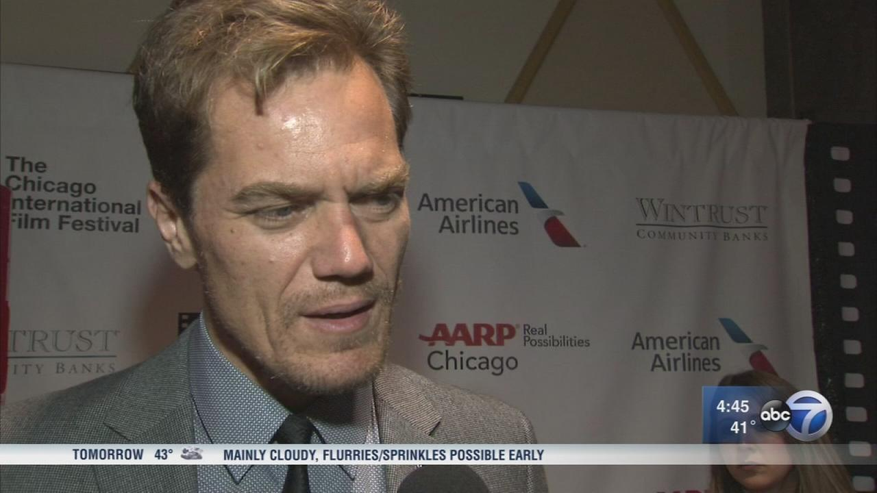 Michael Shannon in Chicago for debut of ?The Shape of Water?