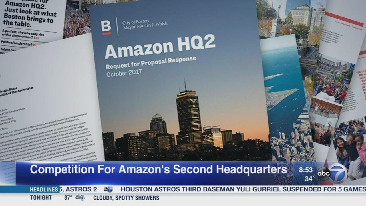 Daily Herald: Competition for 2nd Amazon HQ