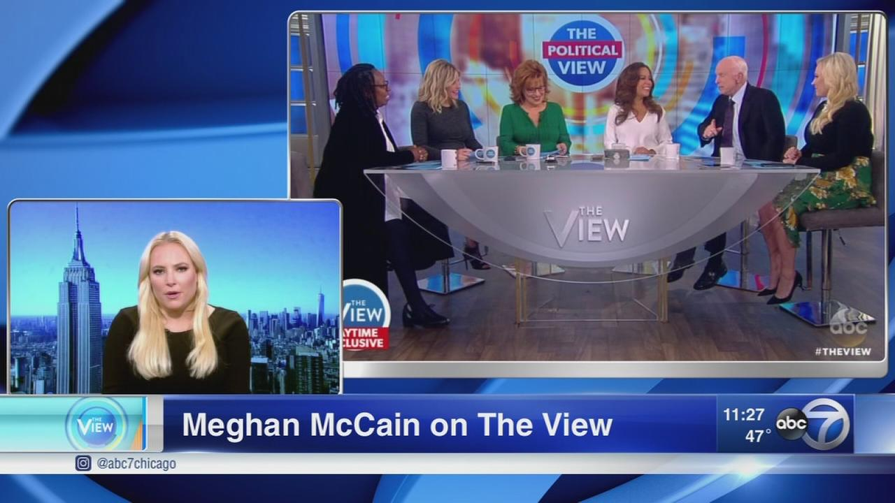Megan McCain on The View