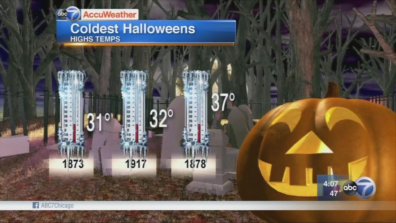 Chicago to see coldest Halloween in 2 decades