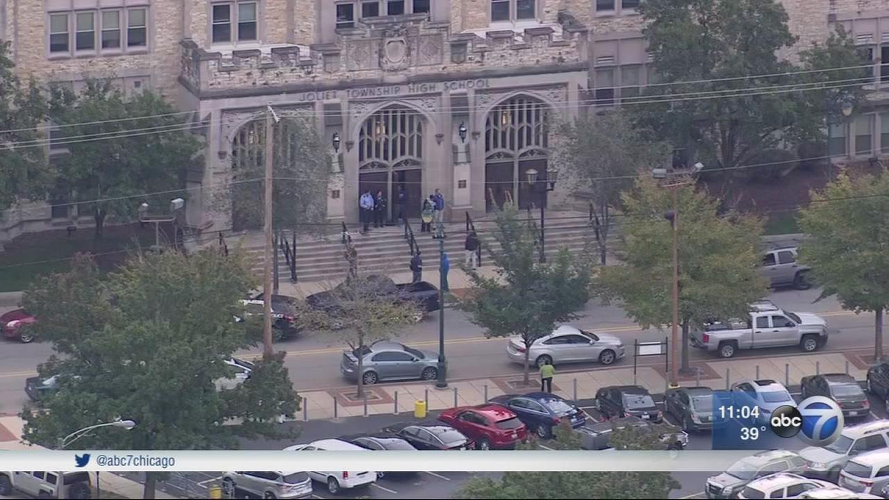 Lockdown lifted at Joliet Central