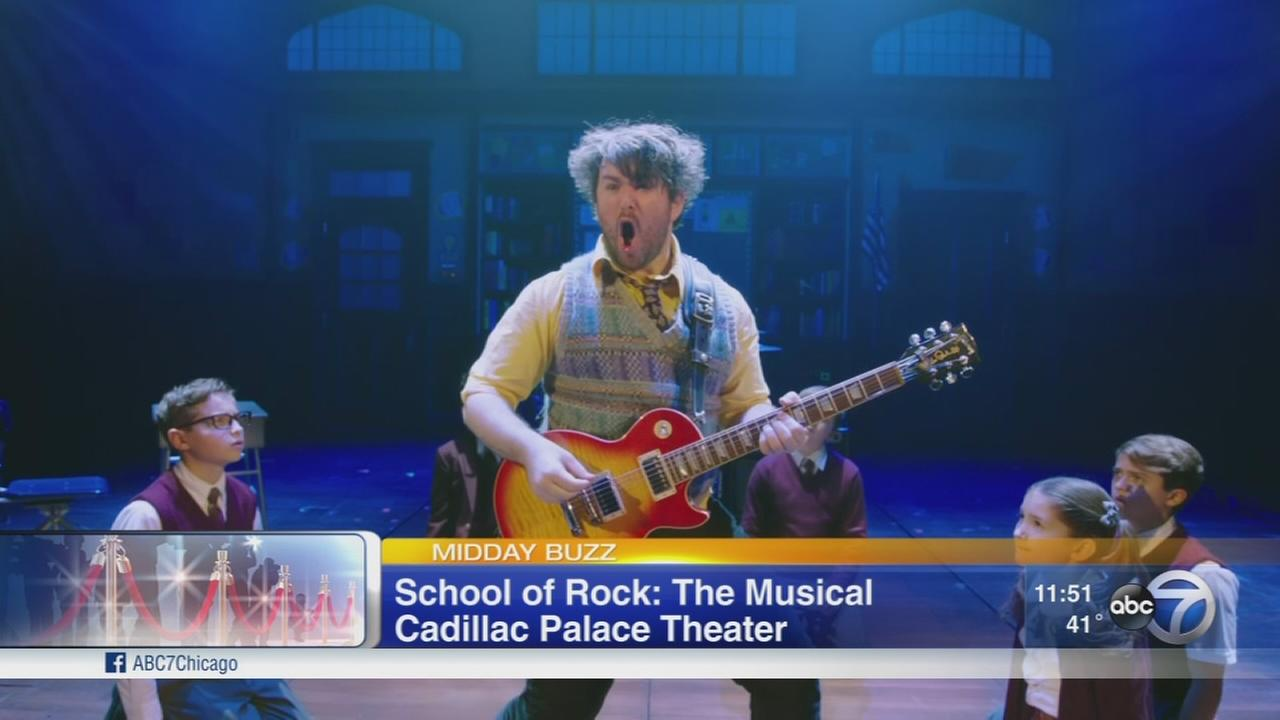 ?School of Rock ? The Musical? opens at Chicago?s Cadillac Palace Theatre