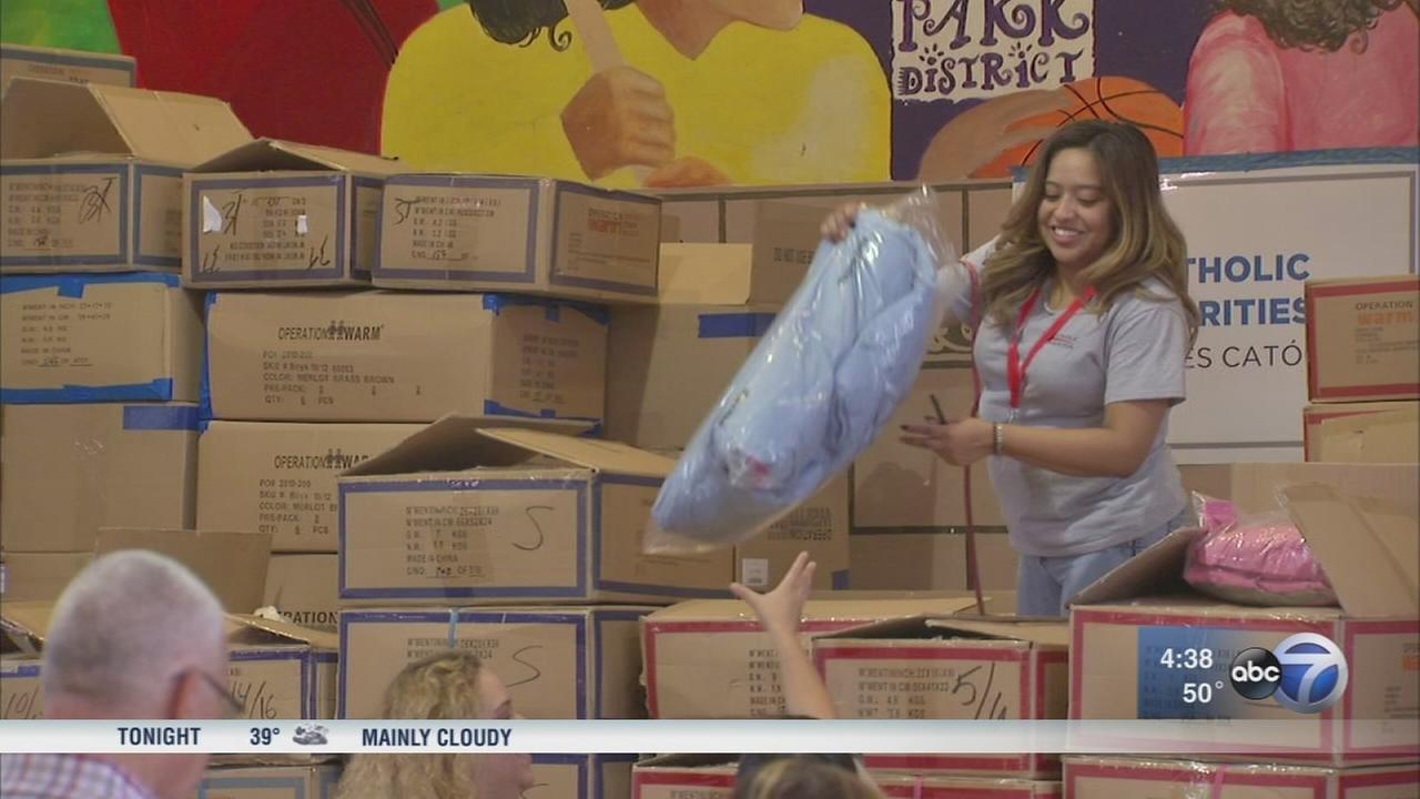 Hurricane relief center opens in Humboldt Park