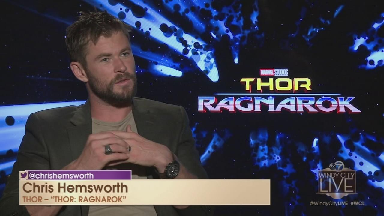Chris Hemsworth talks Thor: Ragnarok