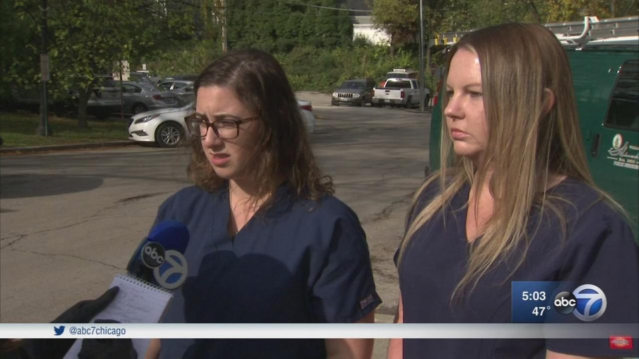 Off-duty nurse, paramedic credited with saving hit-and-run victim