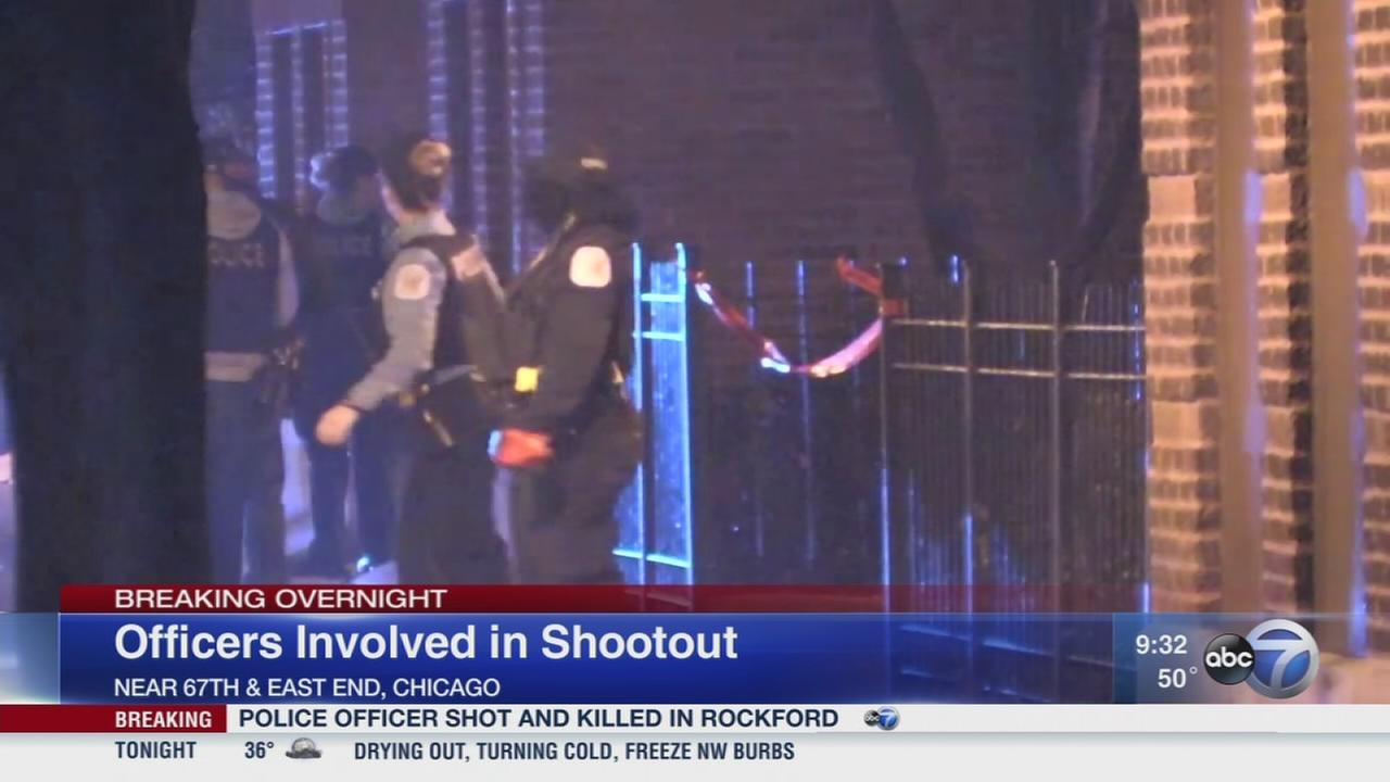 Officers involved in South Shore shootut