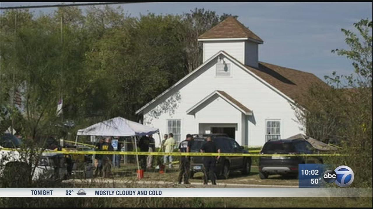Texas church shooter served in Air Force
