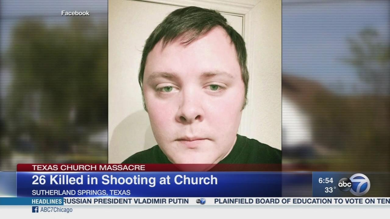 Sheriff: Texas church shooter had self-inflicted wound