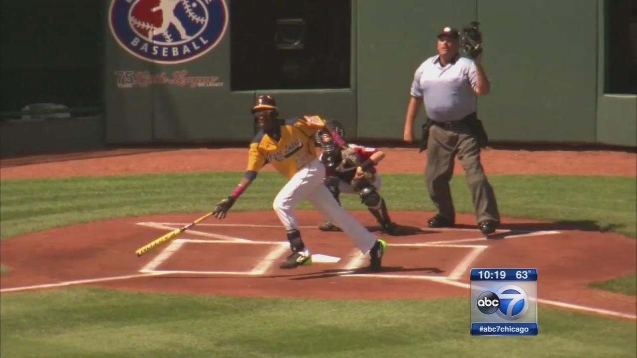 Jackie Robinson West celebrates win