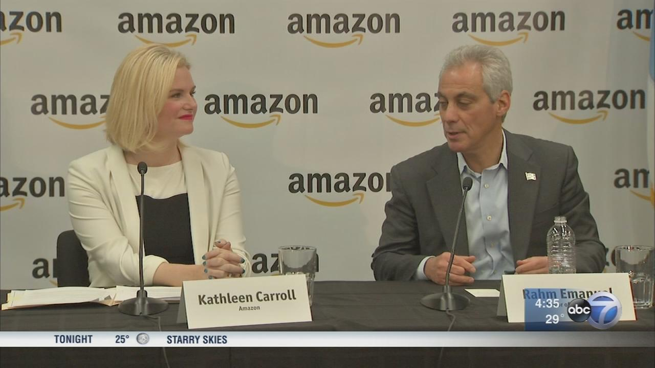 Emanuel stays quiet about Amazon HQ2 bid