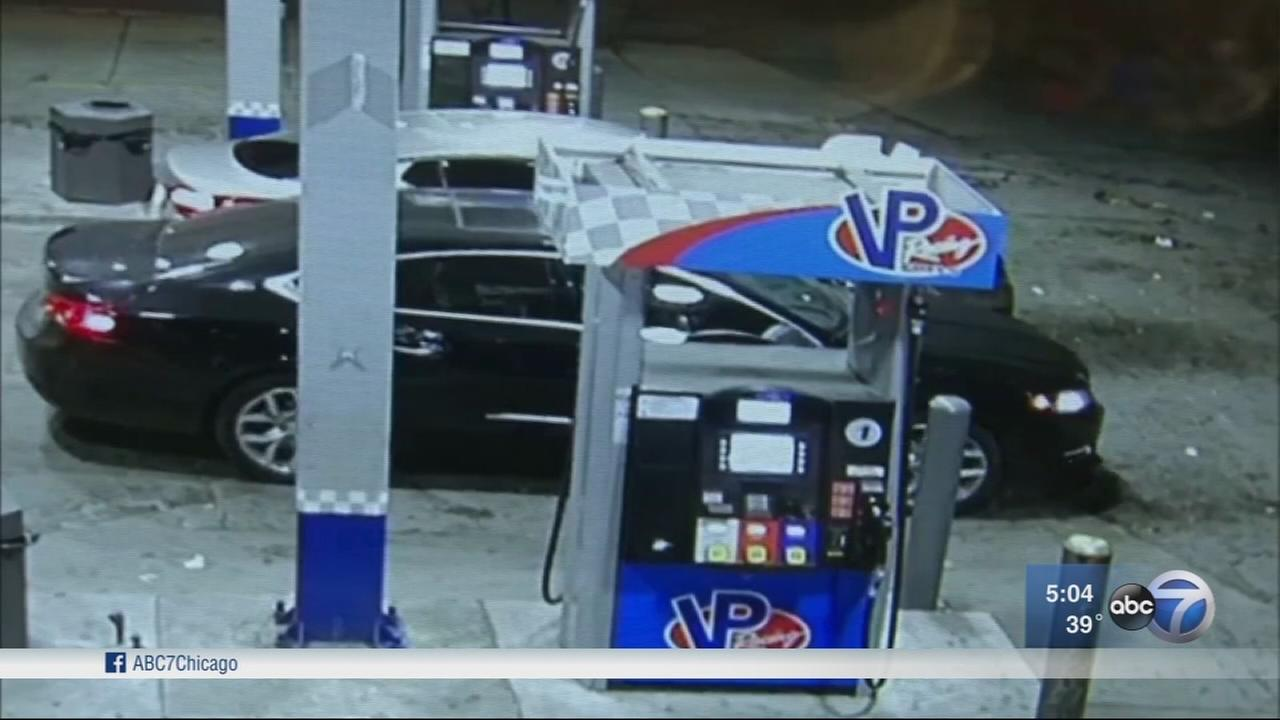 Twin babies found safe after car stolen from gas station