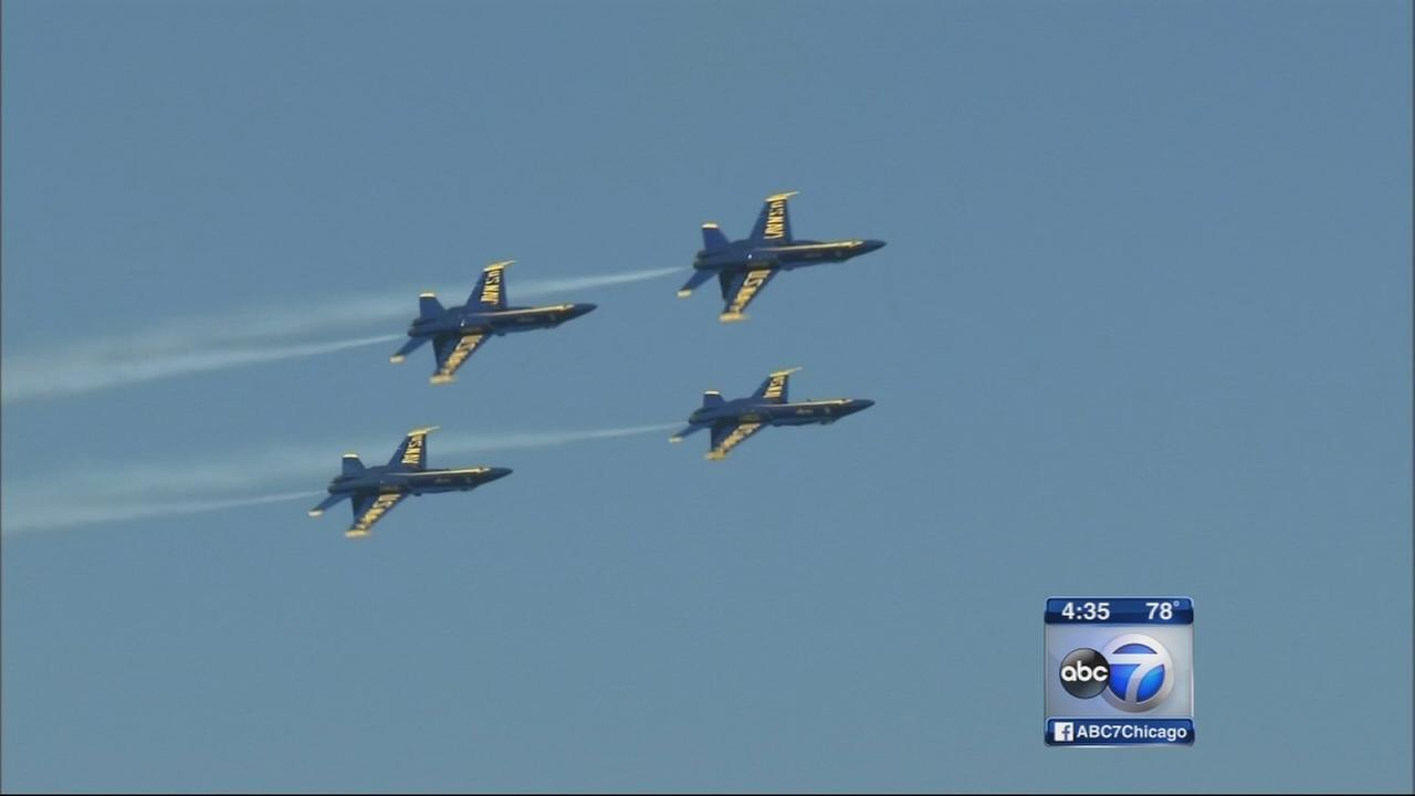 Air and Water Show rehearsal held Friday