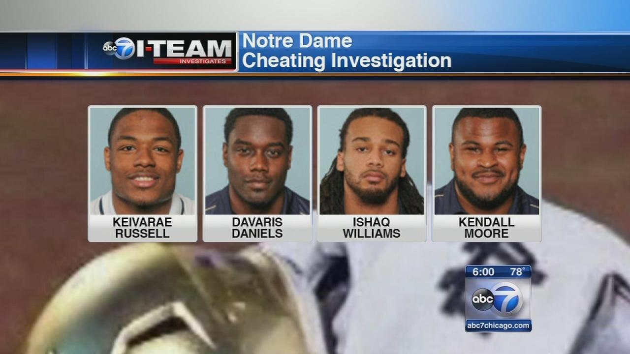 I-Team: Notre Dame cheating scandal