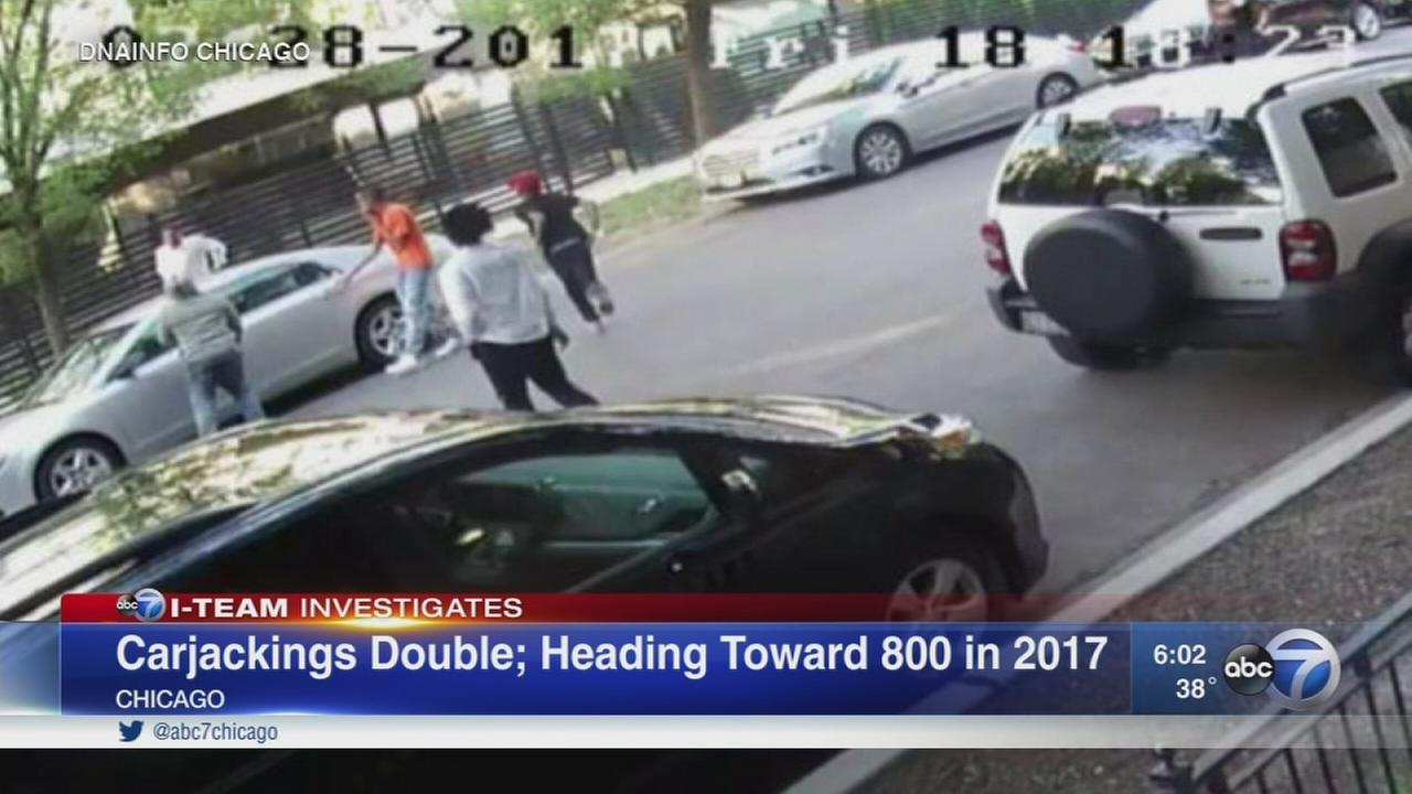 Chicago vexed by spike in carjackings