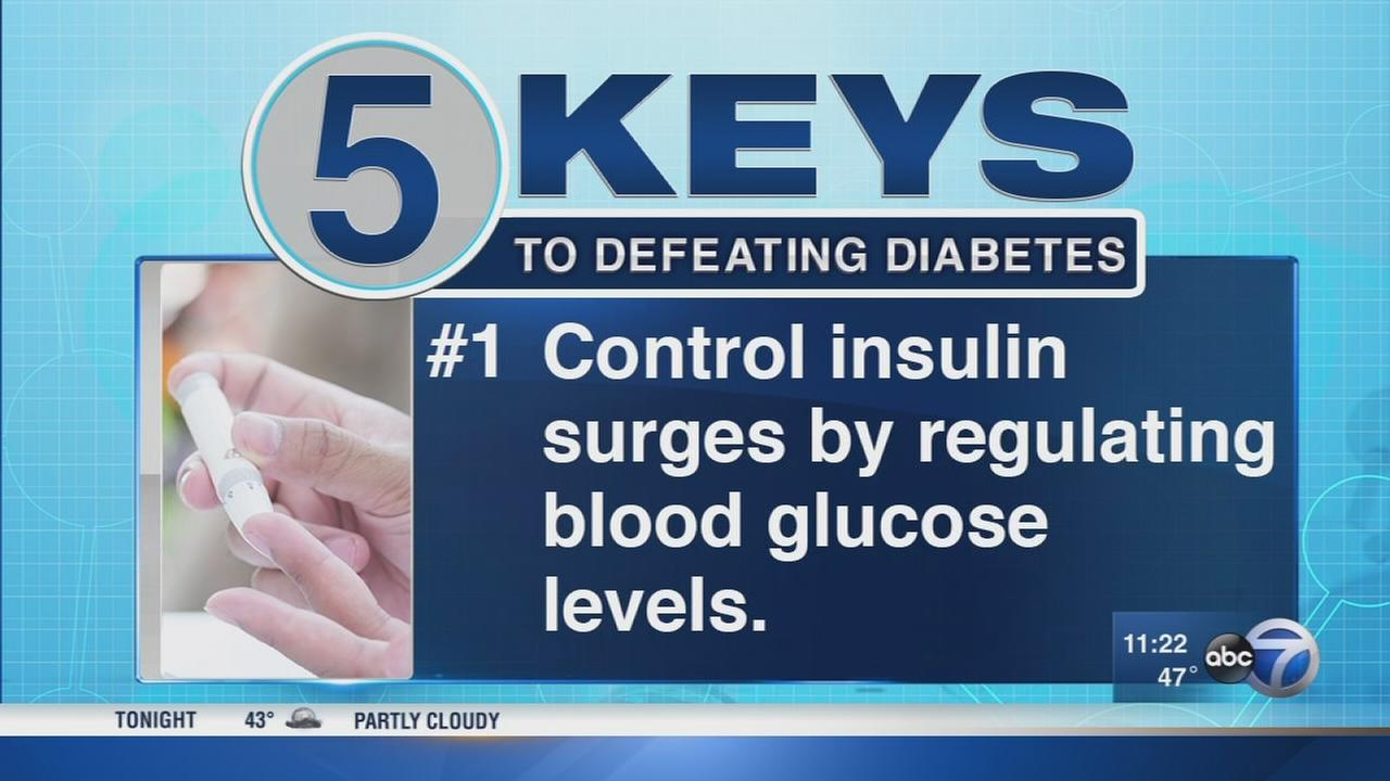 5 keys to defeating diabetes
