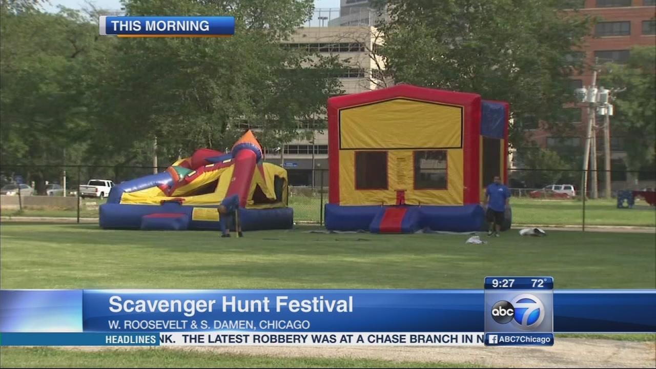 Back-to-School Scavenger Hunt Festival