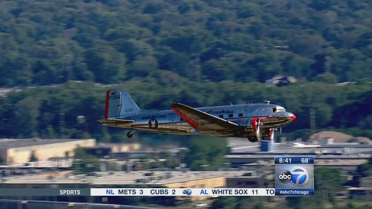 DC-3 takes passengers back in time