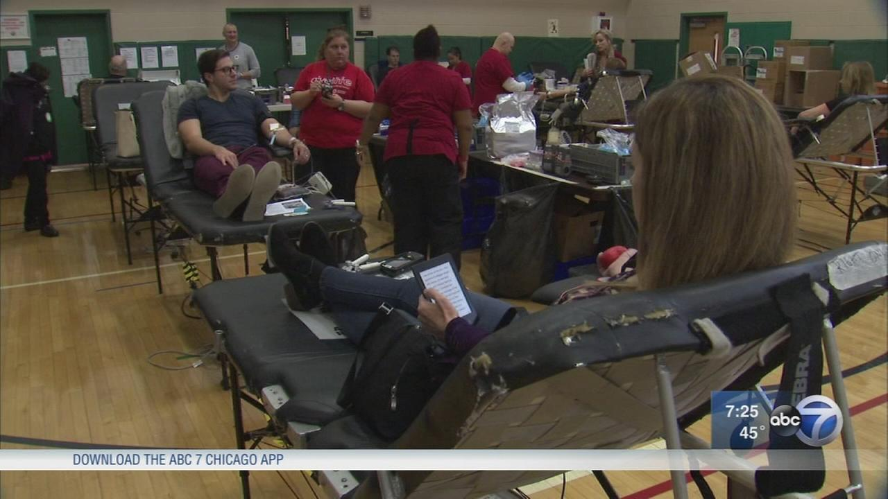 Chicago man hosts annual blood drive in honor of his father