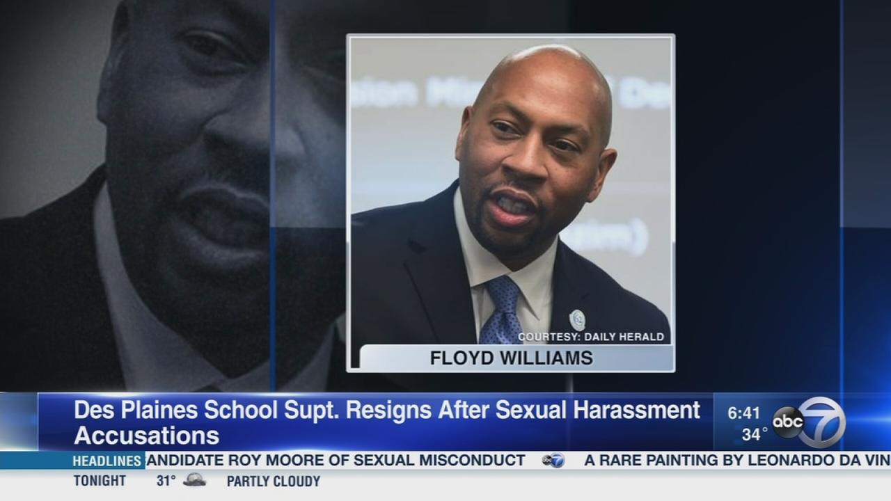 Des Plaines school superintendent accused of sexual harassment