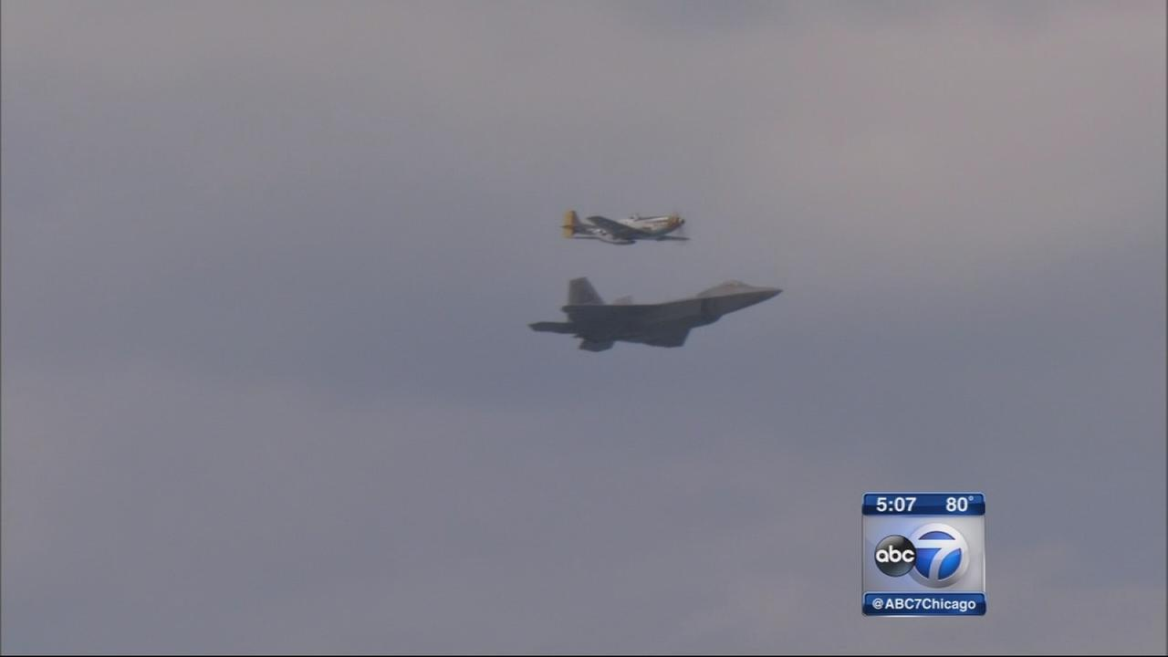 Chicago Air and Water Show off to spectacular start