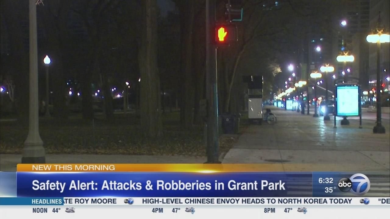 Group of thieves beating victims in Loop, including Grant Park, over last 5 days