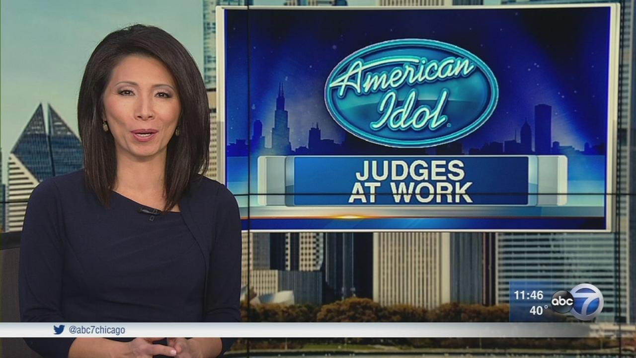 American Idol judges settle in for callback auditions