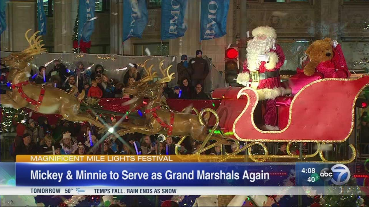 Magnificent Mile Lights Festival kicks off holiday season Saturday