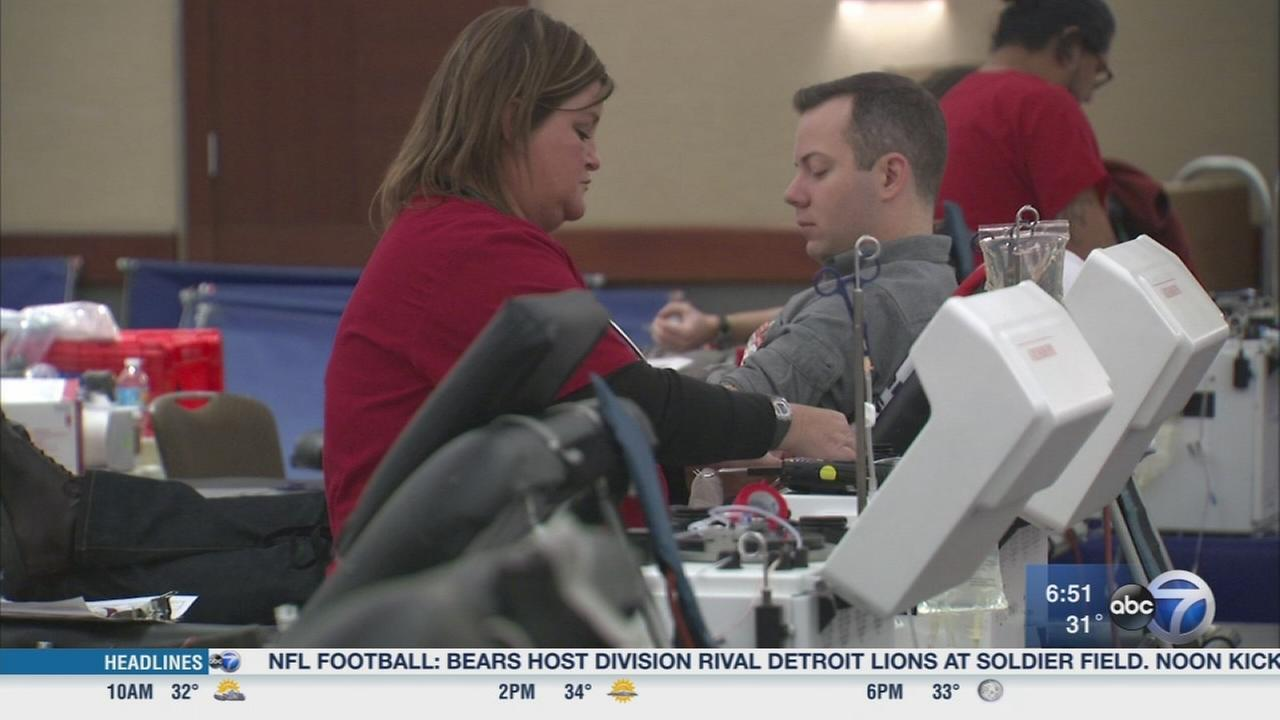 Register now for the ABC7 Great Chicago Blood Drive