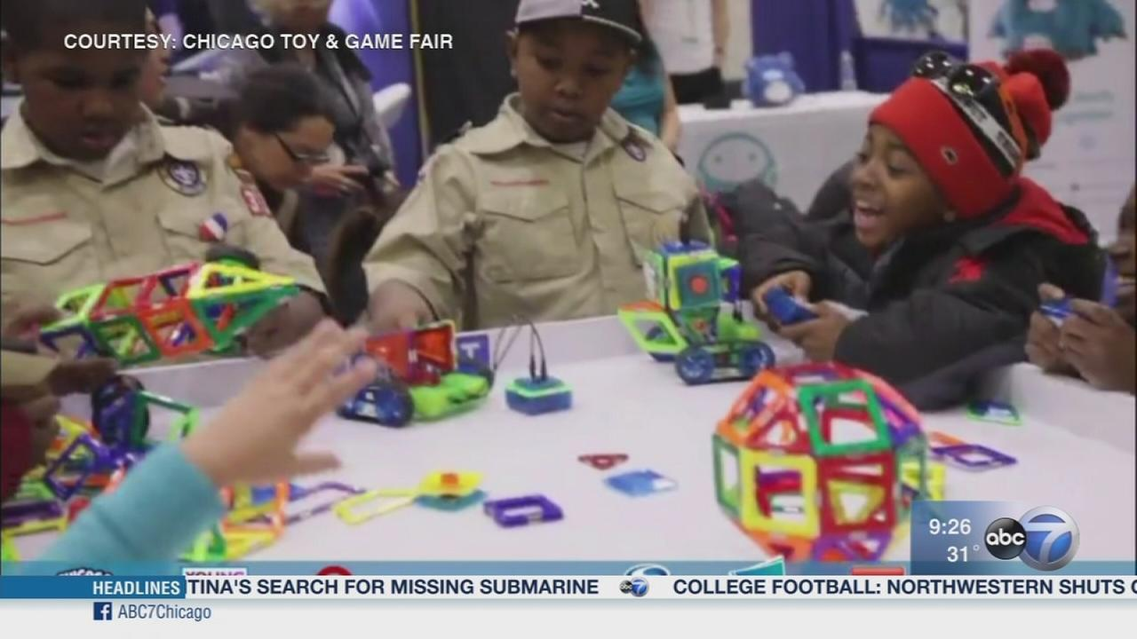 Kids get to try hottest toys at Chicago Toy and Game Fair