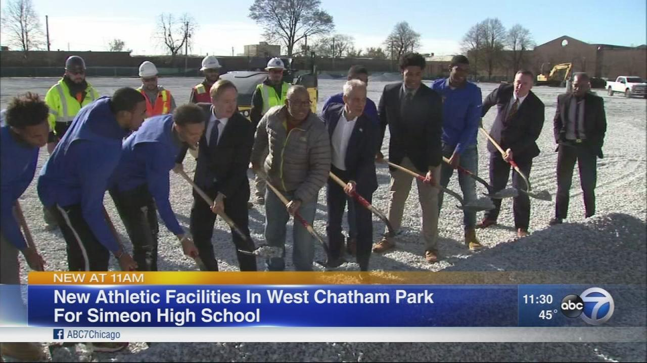Ground broken for new athletic facilities for Simeon HS