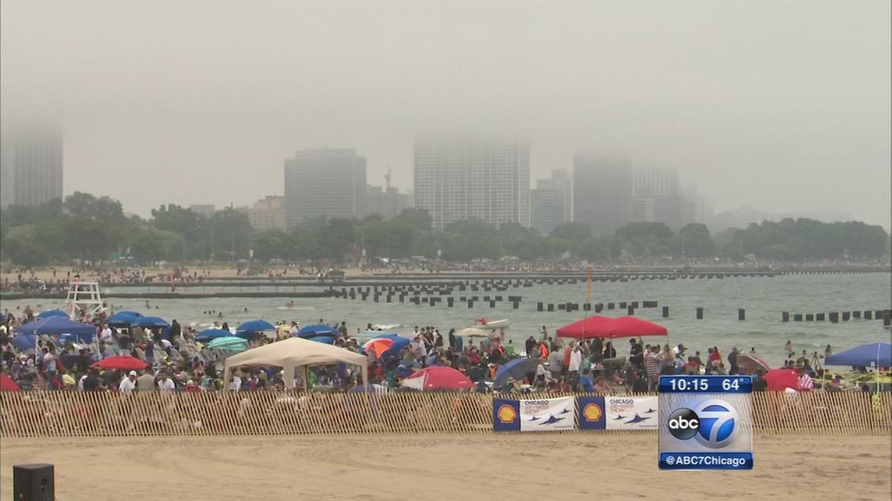 Chicago Air and Water show canceled due to weather