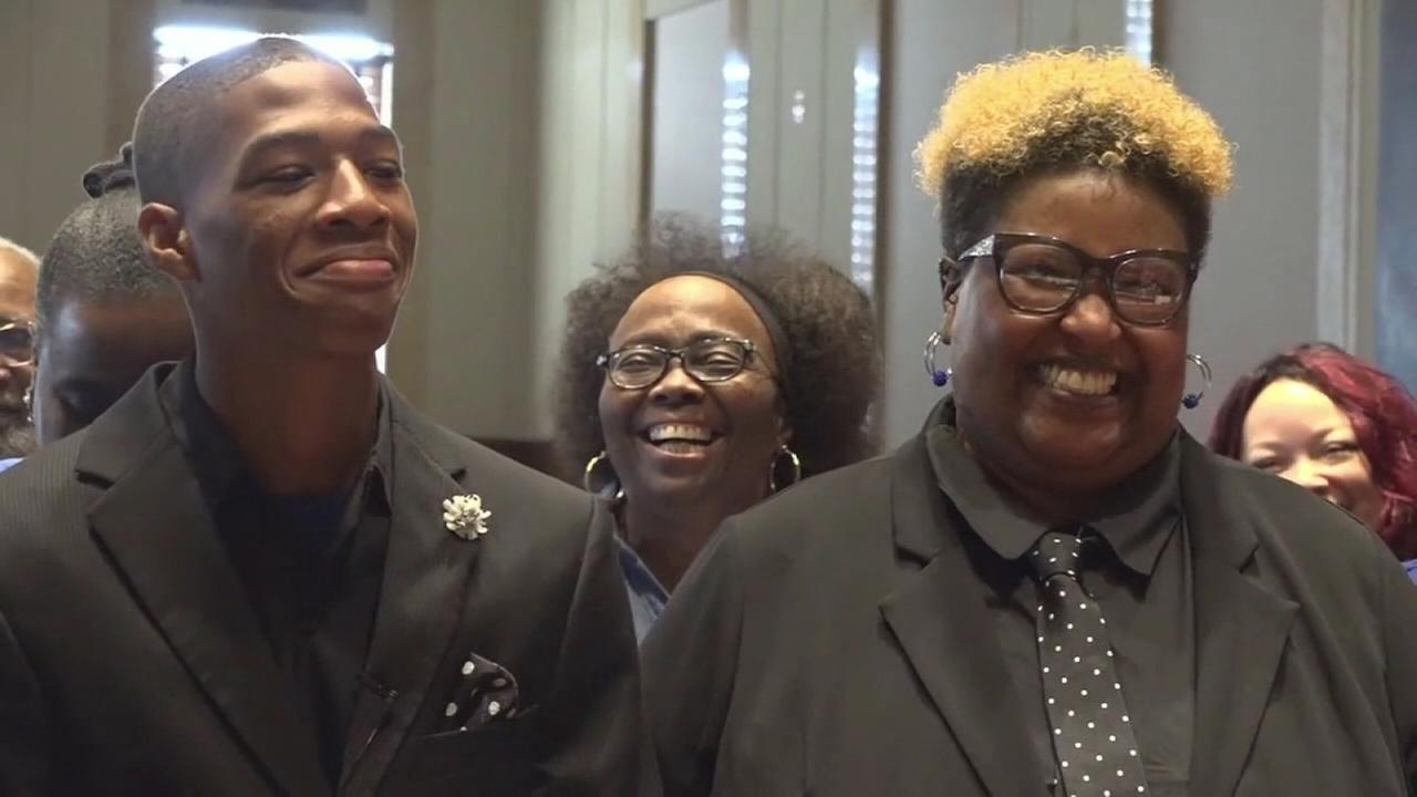 Student gets a forever family after asking teacher to adopt him