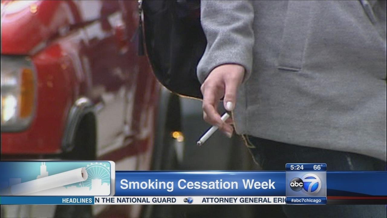 Smoking Cessation Awareness Week begins