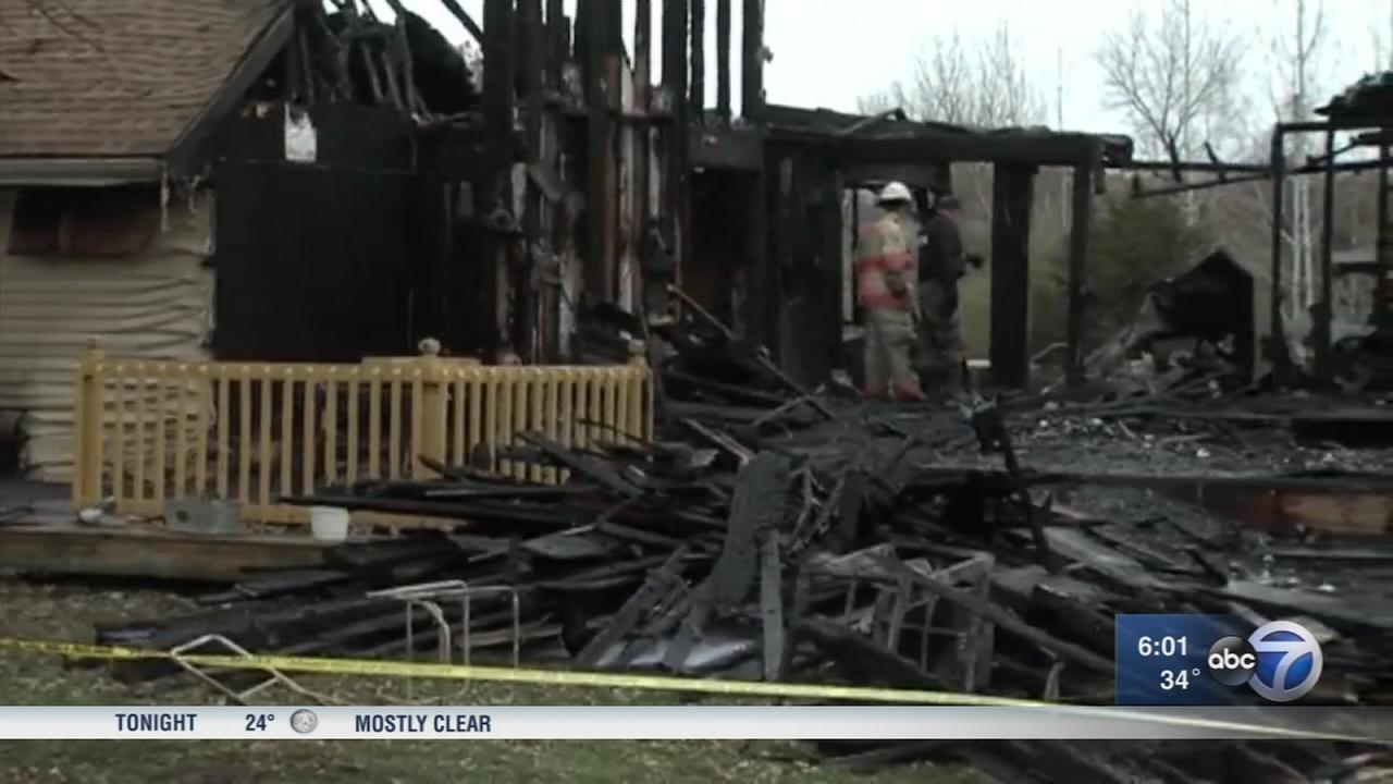 4 children, 2 adults killed in house fire outside Dixon IDd