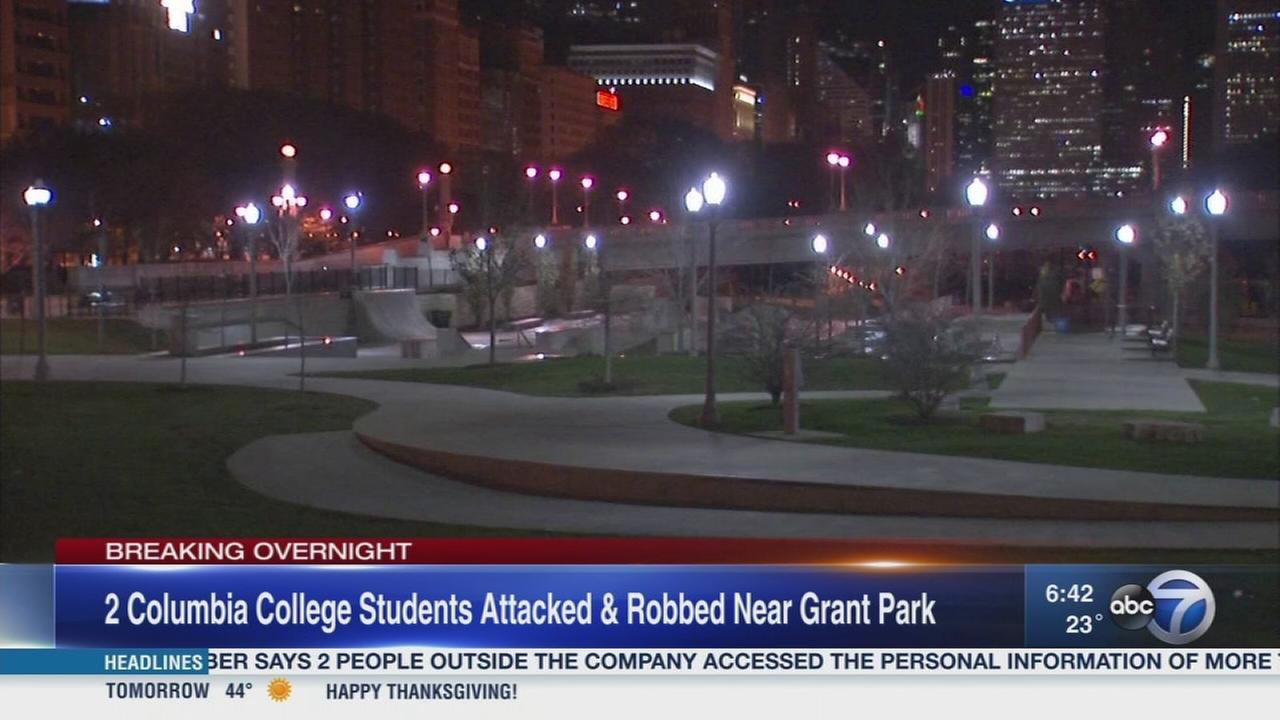 Columbia College students robbed