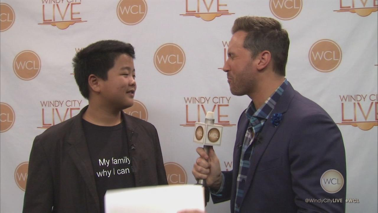2-Minute Warning: Hudson Yang, of ?Fresh off the Boat?