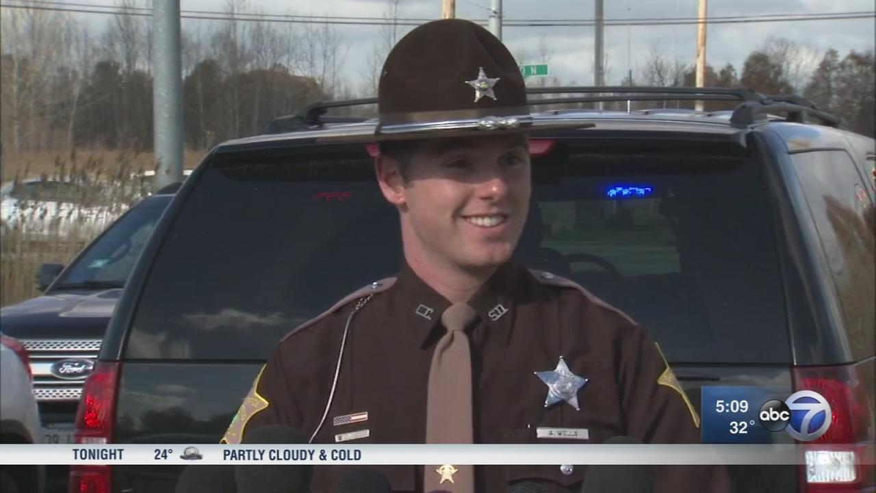 Ind. deputy saves woman with Heimlich maneuver during traffic stop