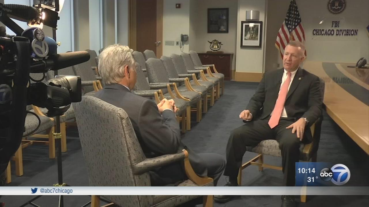 Goudie sits down with new head of FBI in Chicago