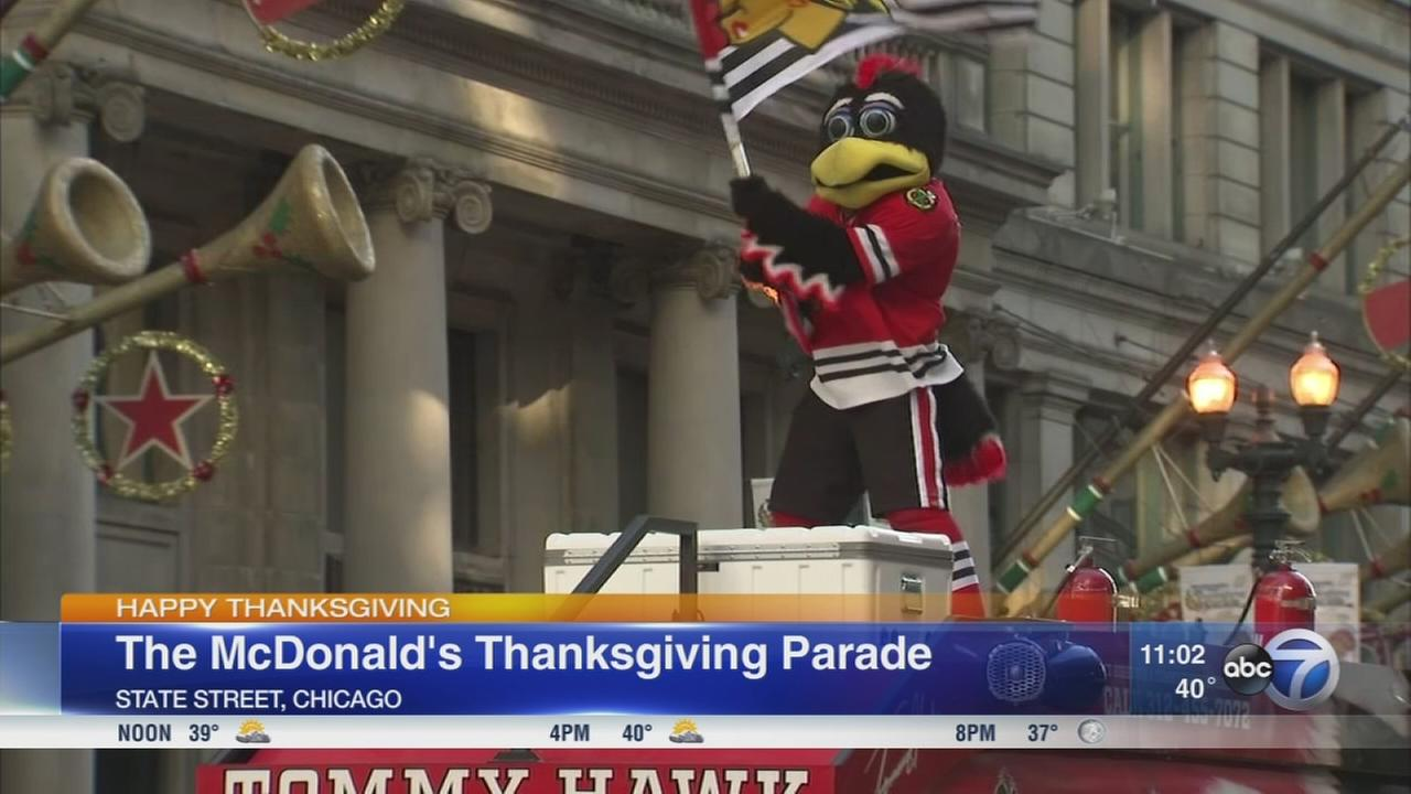 McDonalds Thanksgiving Parade held in Chicago