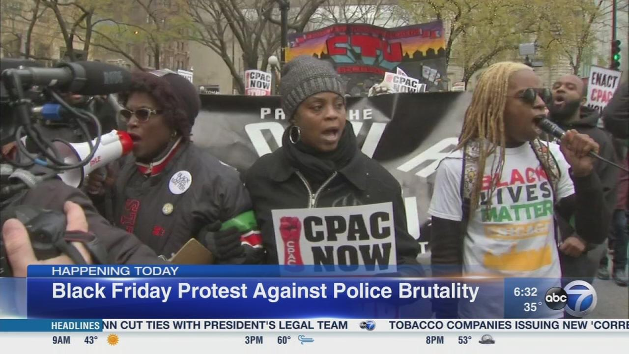 Protesters call for Black Friday protest
