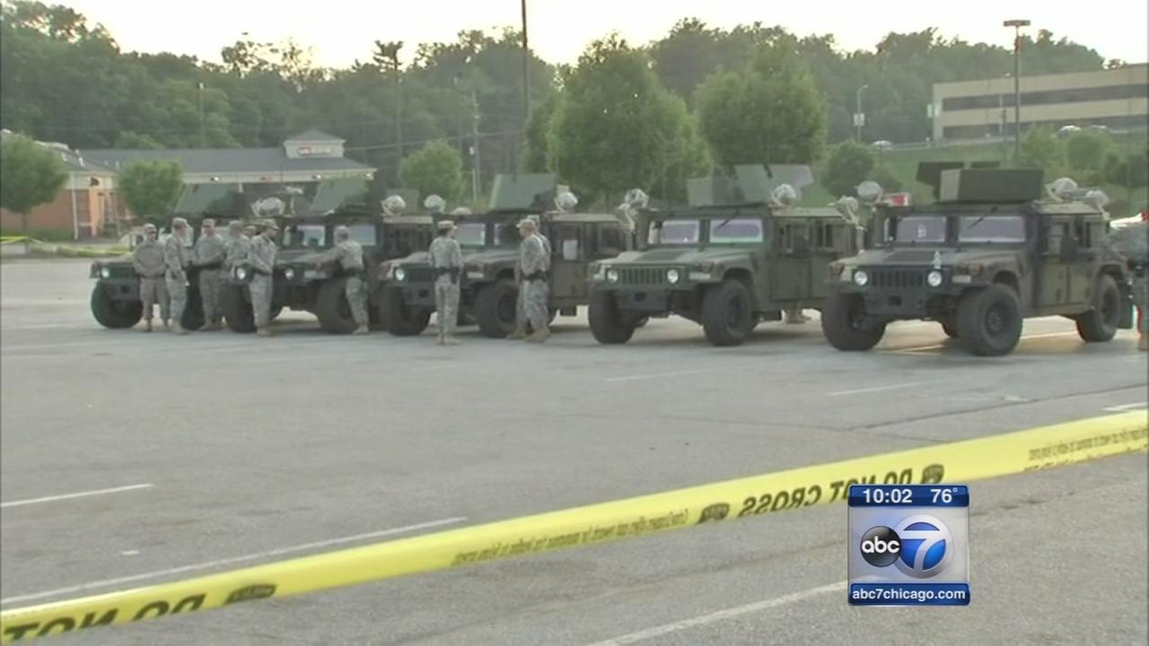 National Guard standing by in Ferguson