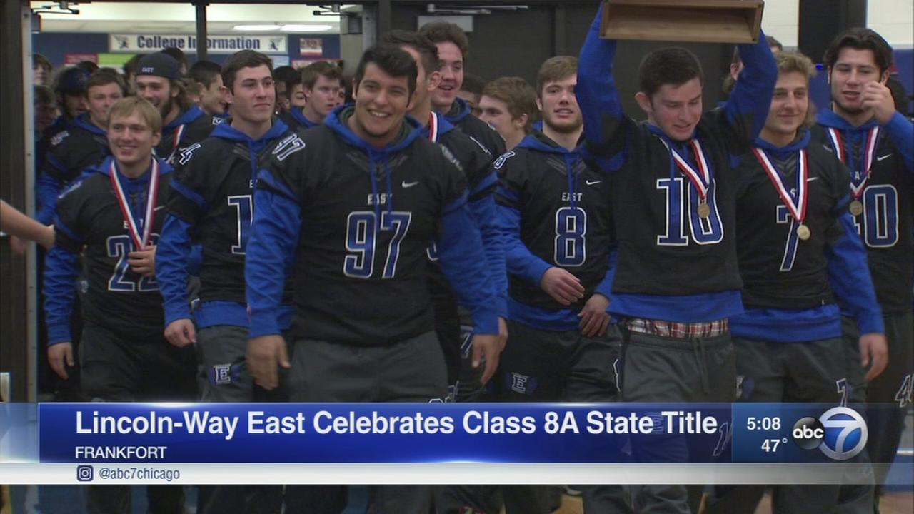 Lincoln-Way East wins Class 8A championship