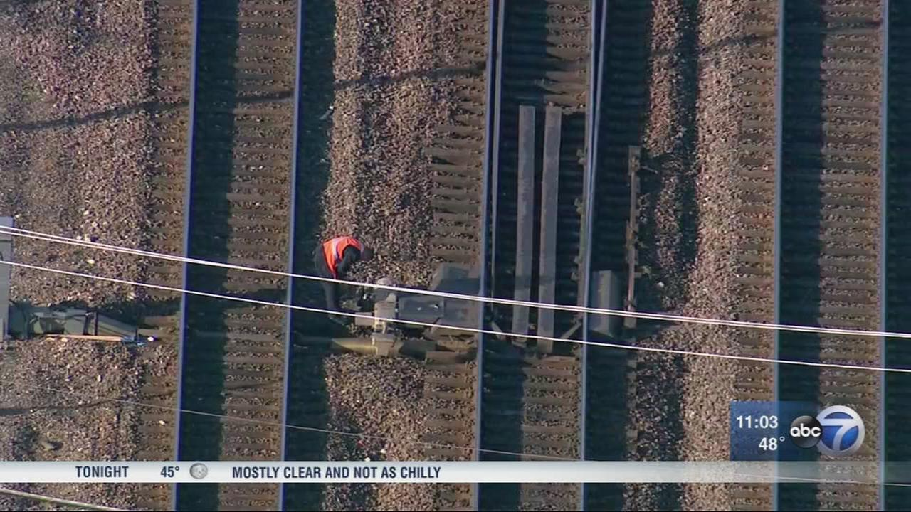 Track work leads to delays on Metra BNSF
