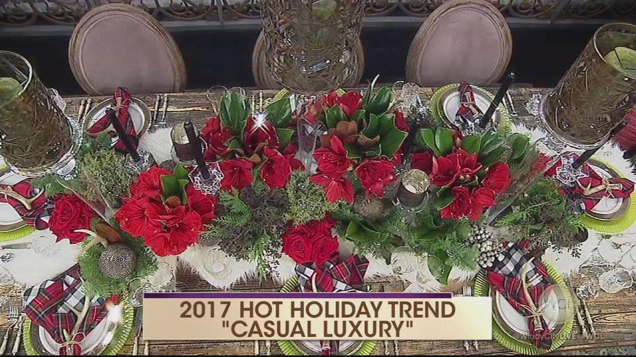 Holiday decor trend: Casual luxury