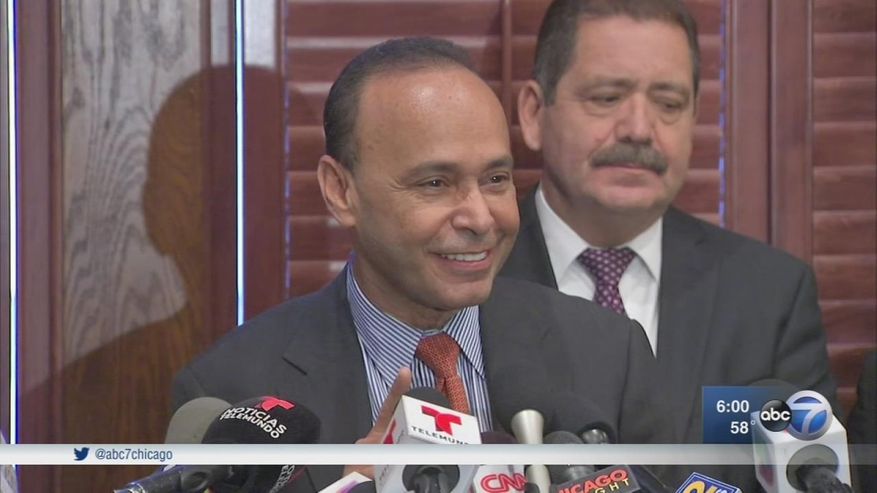 Rep. Luis Gutierrez stepping down, backing Chuy Garcia