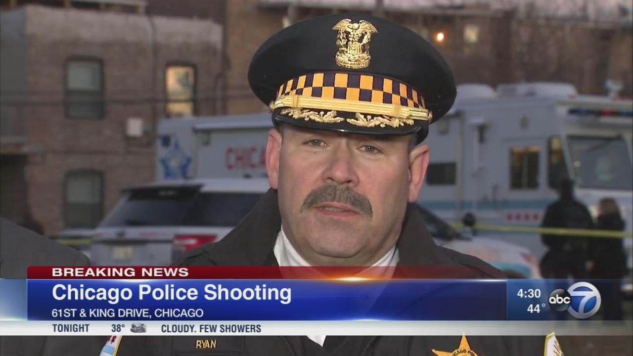 Person shot by Chicago police