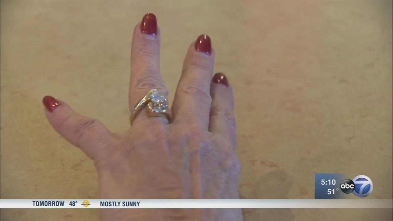 illinois woman uses nextdoor app to find lost wedding ring - Lost Wedding Ring