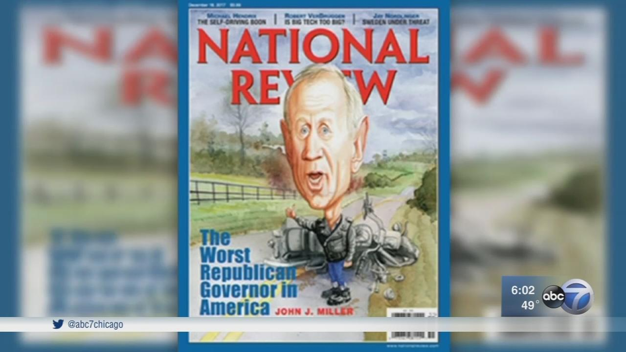 National Review names Bruce Rauner Worst Republican Governor in country