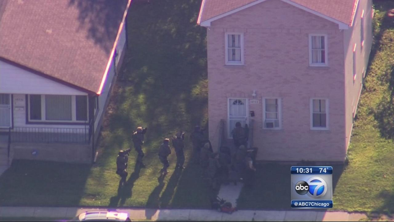 3 children released in Harvey hostage standoff