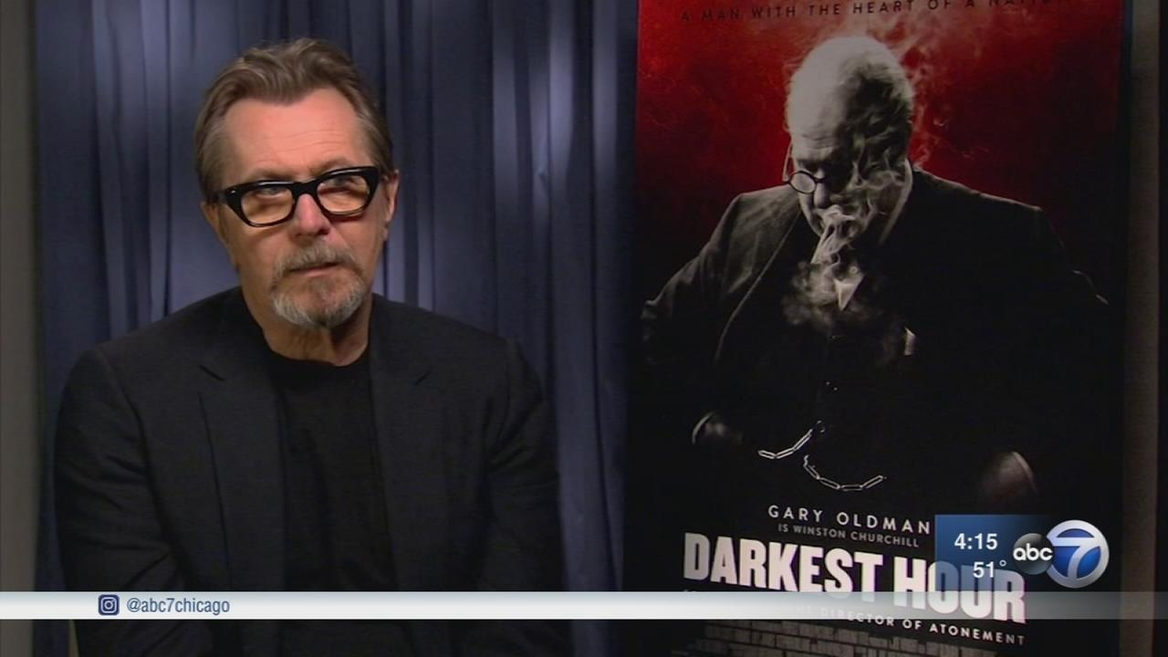 Gary Oldman getting Oscar buzz for Darkest Hour performance